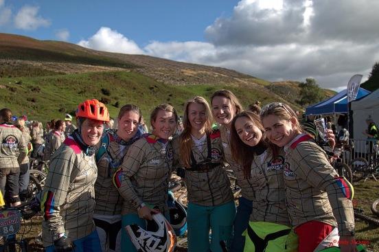Gang of wonderful women I met, photo by Andy Jackson